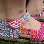 Colorful Espadrille In Hmon..