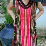 Rosa Dress - Hmong Appliqu�..