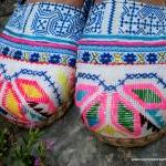 Hmong Embroidered & Batik W..